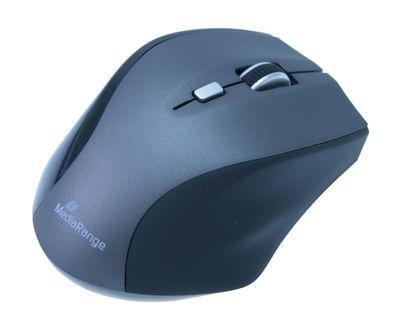MediaRange optical 5-button mouse, 1600dpi - wirelessly