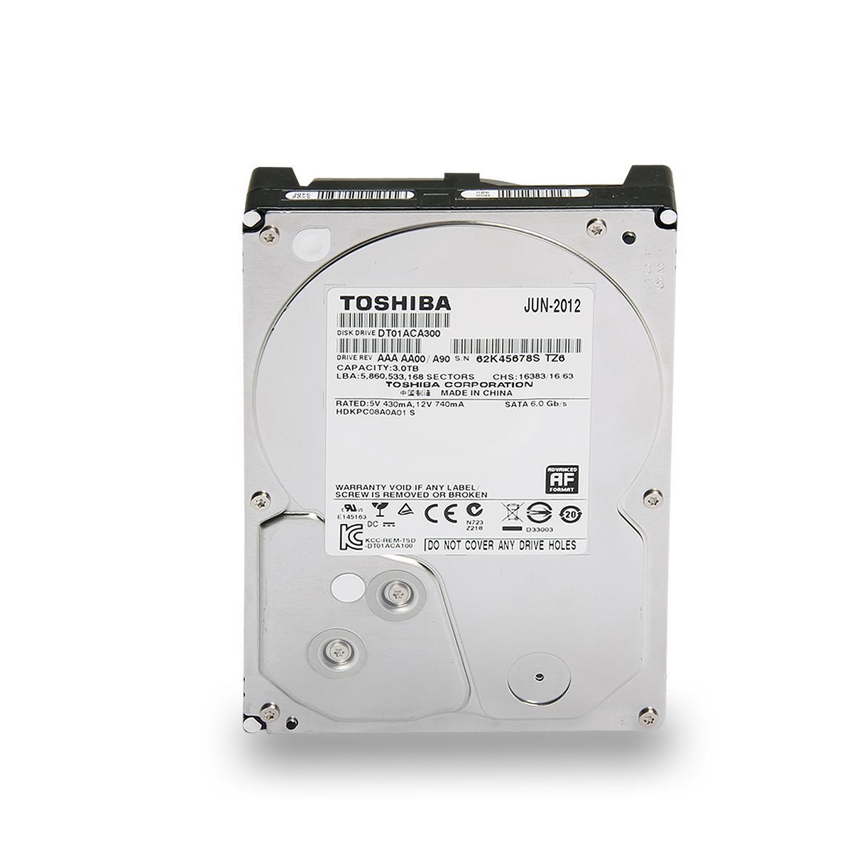 TOSHIBA MD04ACA400 internal Hard Disk Drive - 3,5