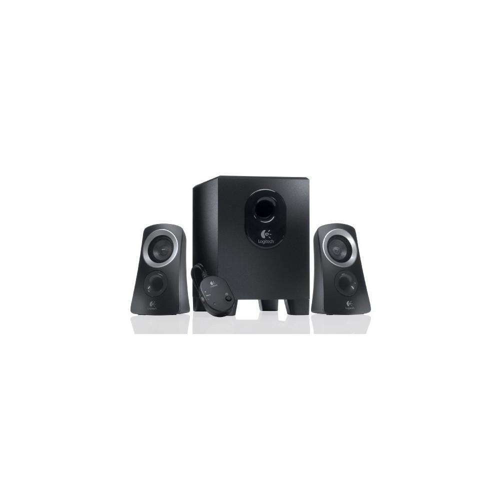 25ba44e82ac Logitech - Z313 2.1-Channel Speaker System (3-Piece) - Black/Silver.  Logitech 1.jpg · 500181.jpg