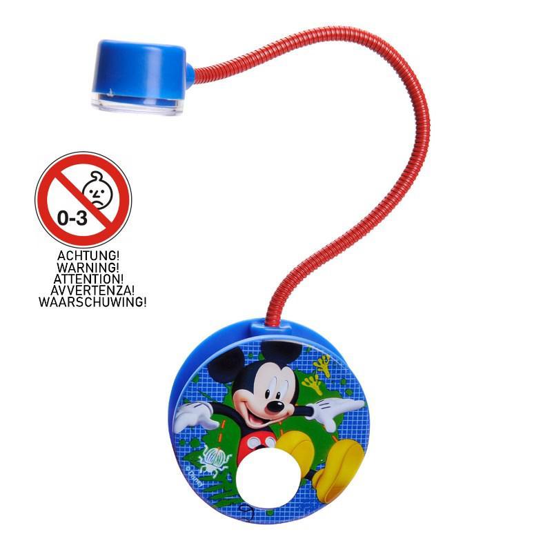 Mickey Mouse Nachtkastje.Disney Leeslamp Mickey Mouse Met Clip Op Batterijen