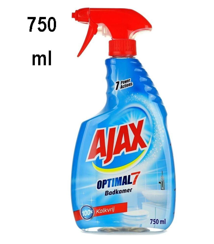 Ajax Bathroom spray / Anti-lime cleaner - Optimal 7 - 750 ml