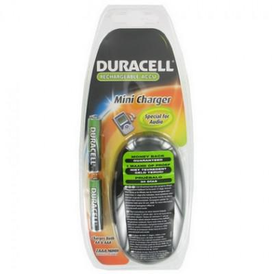 DURACELL RECHARGEABLE MINI CHARGER  AA//AAA NEW IN PACKAGE