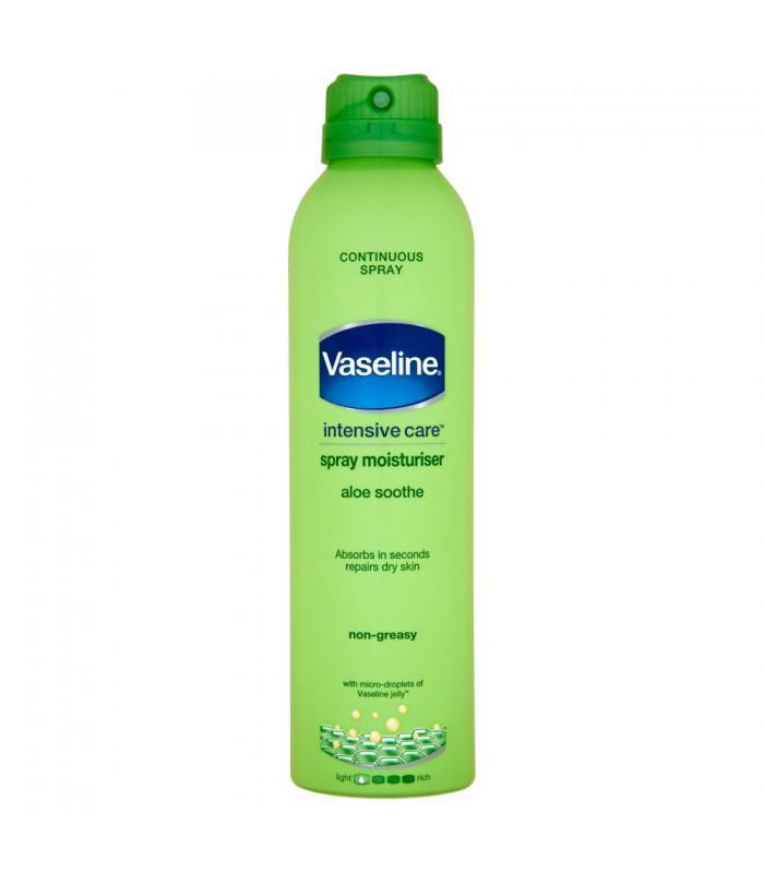 vaseline spray lotion sverige